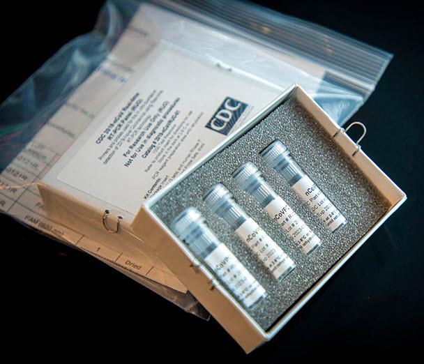 CDC Coronavirus Test Kit