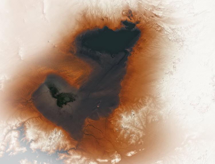 Lake Mega Chad remnants